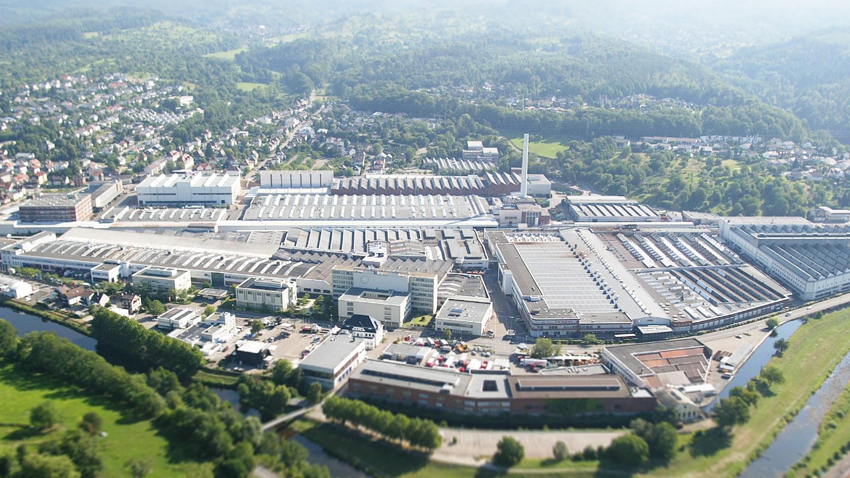 Mercedes Benz Werk Gaggenau