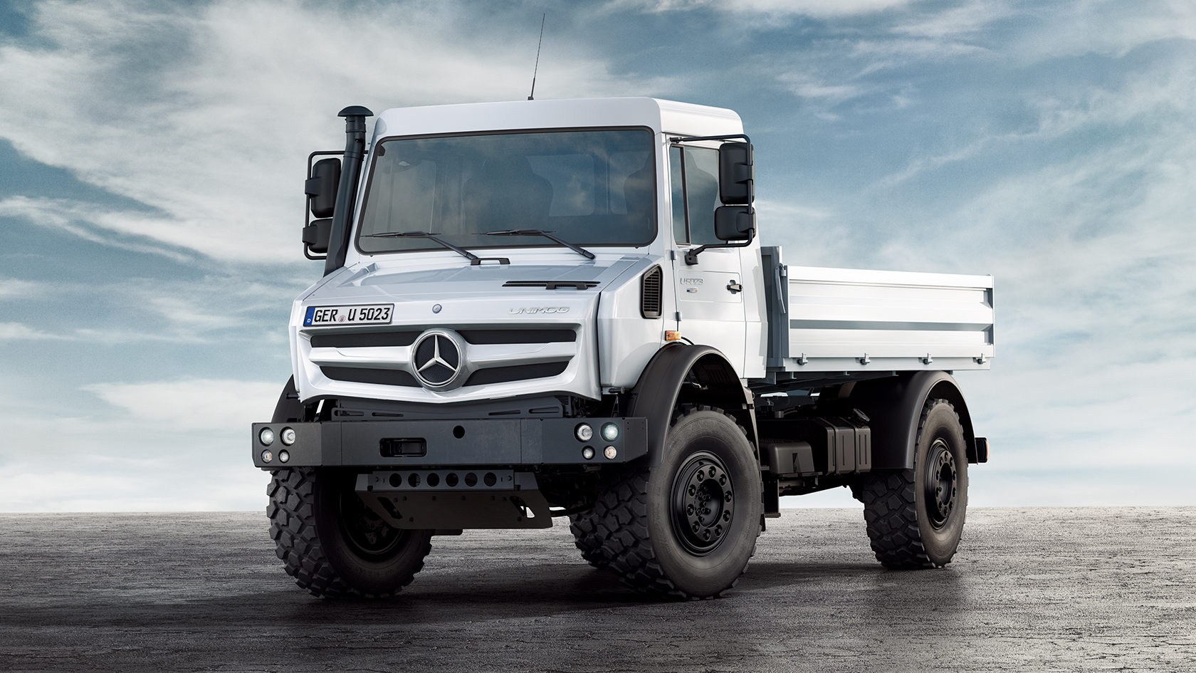 unimog u 4023 u 5023 mercedes benz trucks uk. Black Bedroom Furniture Sets. Home Design Ideas