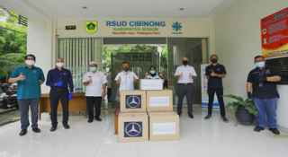 Donates Personal Protective Equipment (PPE) to Cibinong Regional General Hospital in West Java, DCVMI Declares Support to Medical Personnels as the Frontline of COVID 19 Pandemic Handling