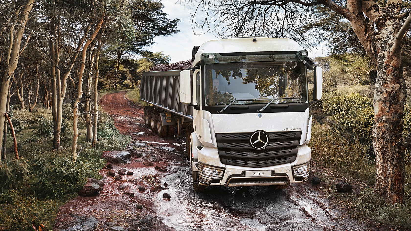 Actros: Logging – Specification & dimension – Mercedes-Benz