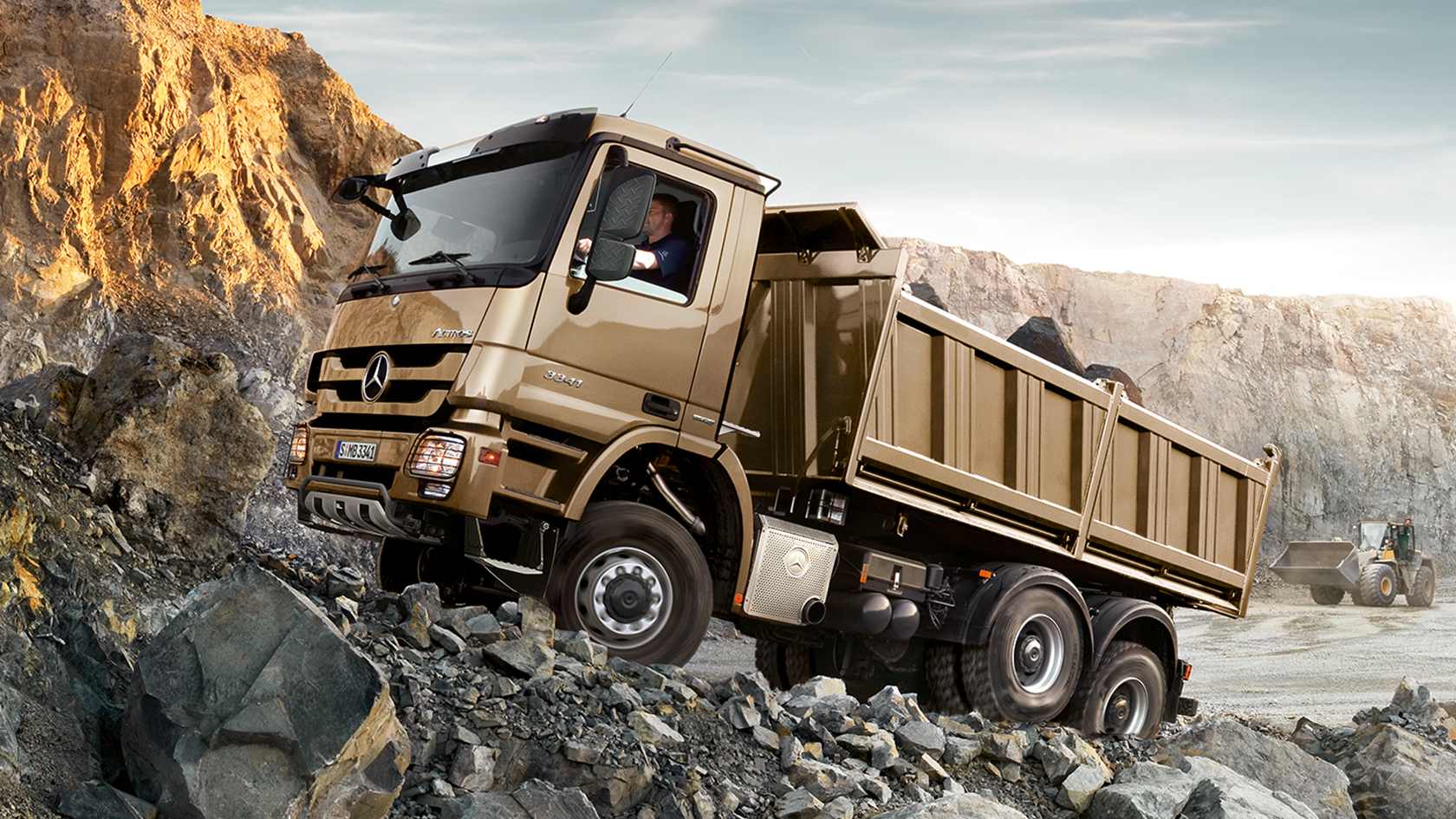 Actros: Mining – Specification & dimension – Mercedes-Benz