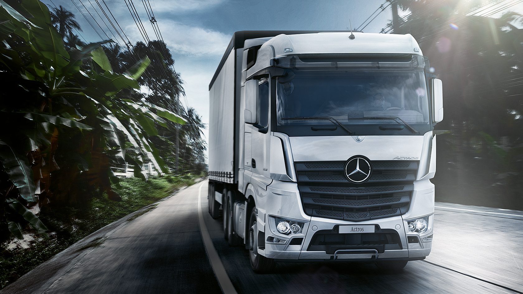 Actros: Specification & dimension – Mercedes-Benz Trucks