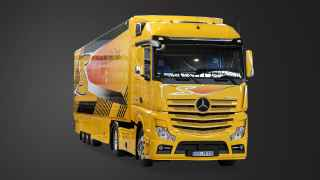Actros 1863 Safety Truck.