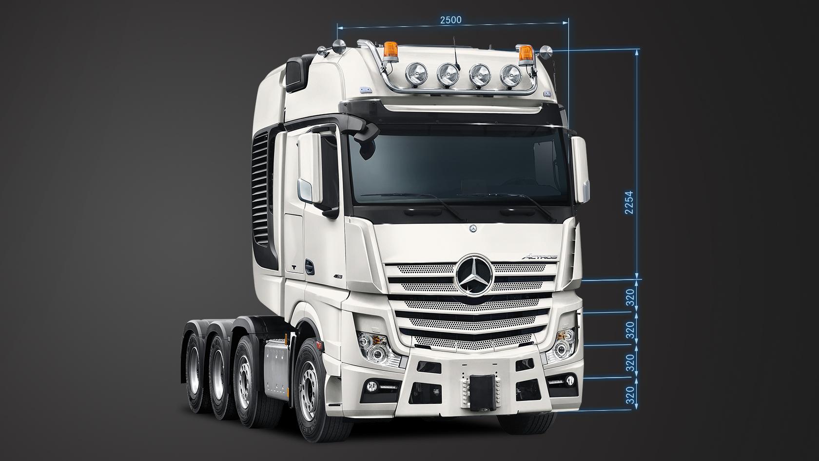 Actros: Cab variants – Mercedes-Benz Trucks – Trucks you can