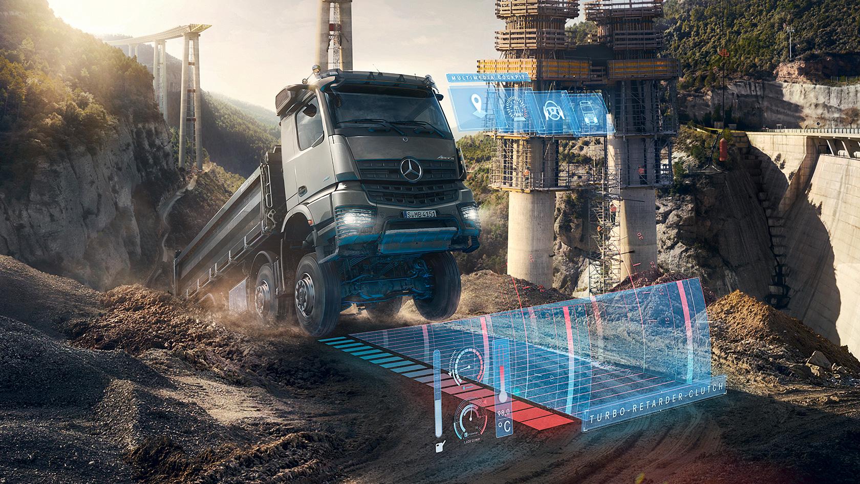 Arocs: Robustness – Mercedes-Benz Trucks UK – Trucks you can