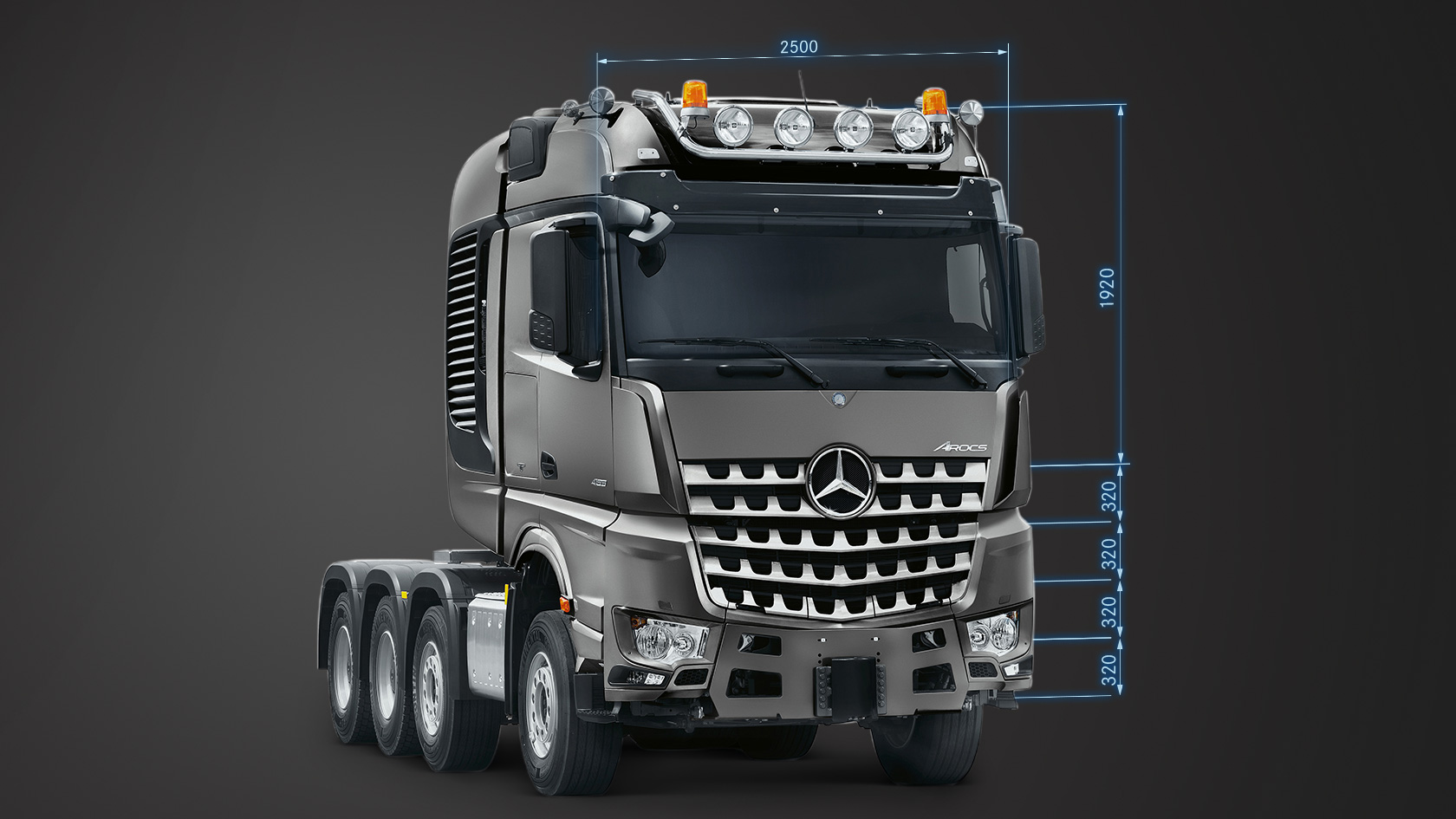 Arocs: Cab variants – Mercedes-Benz Trucks UK – Trucks you