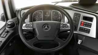 Multifunction steering wheel.