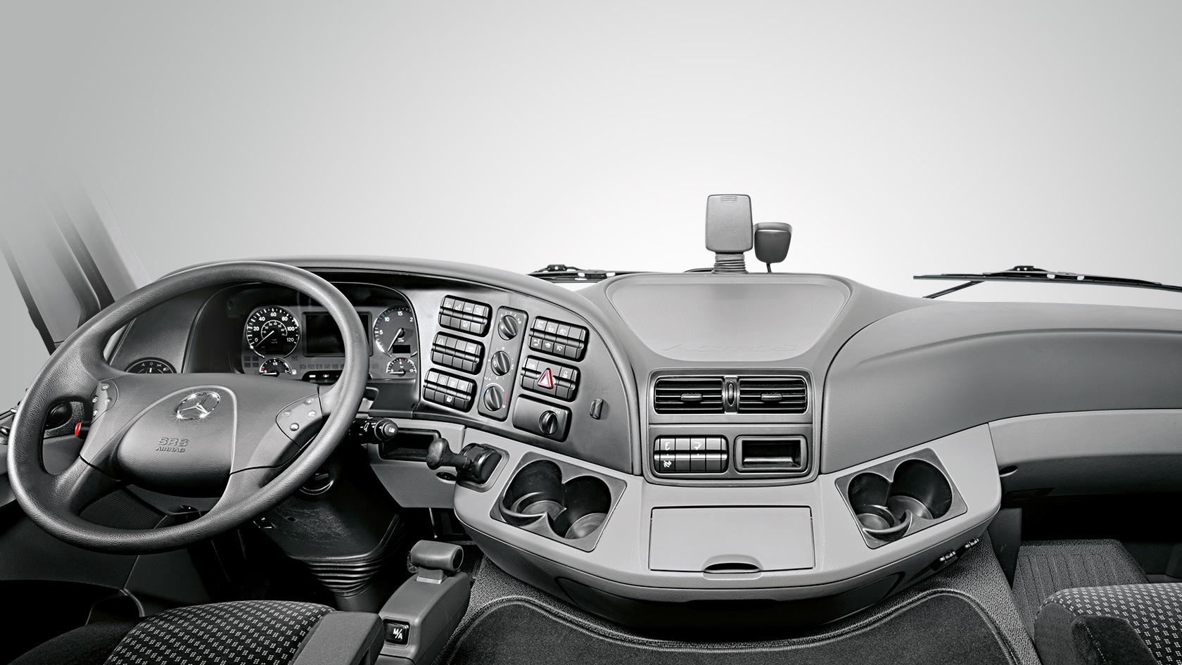 actros interior mercedes benz trucks trucks you can trust. Black Bedroom Furniture Sets. Home Design Ideas