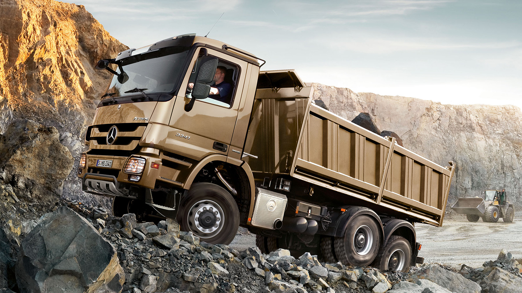 Actros: Engine, gearbox, axles – Mercedes-Benz Trucks – Trucks you