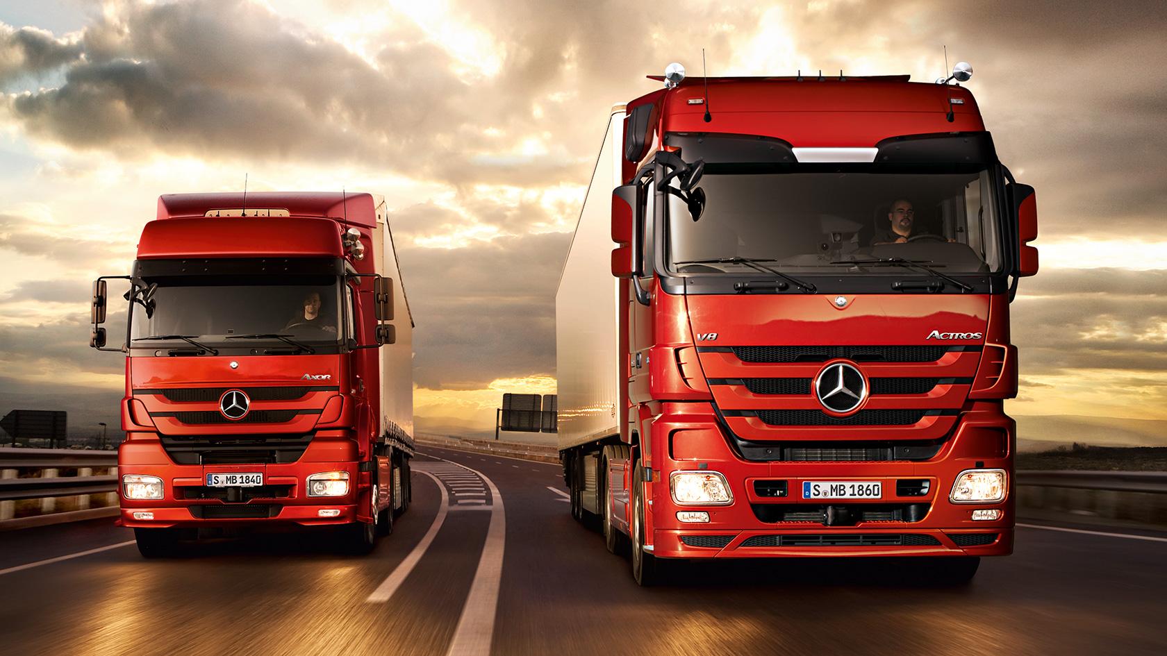 Actros: Engines, transmissions, axles – Mercedes-Benz Trucks