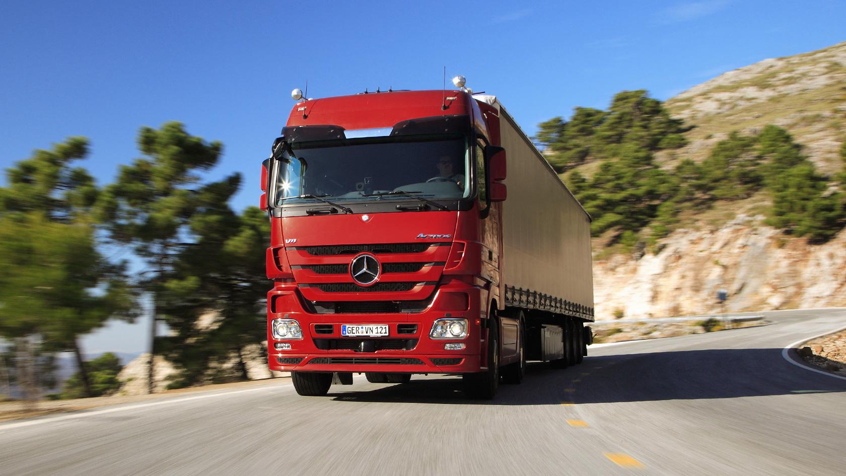 Actros: Advantages – Mercedes-Benz Trucks – Trucks you can trust