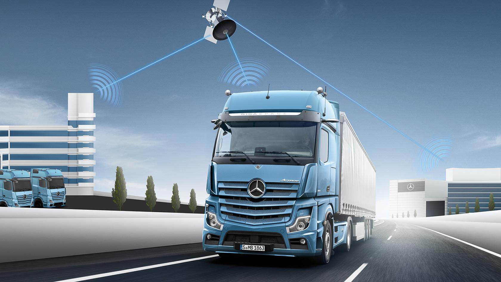 Le nouvel Actros: Exploitation maximale du véhicule – Mercedes ...