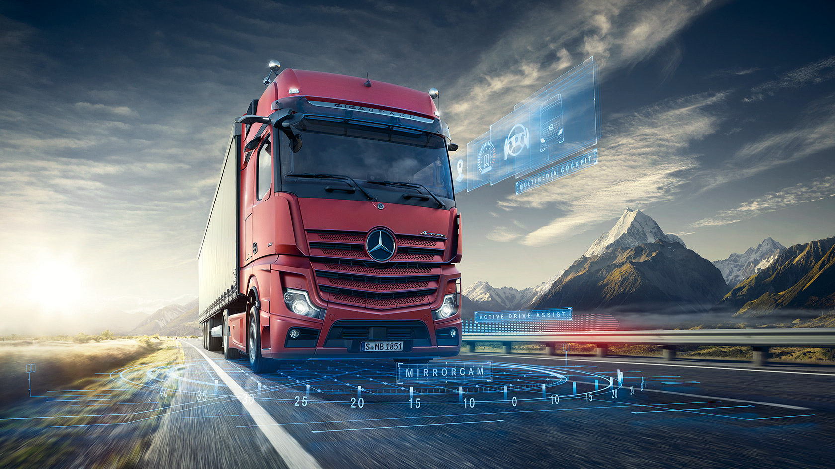 The new Actros – Mercedes-Benz Trucks UK – Trucks you can trust