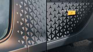 Star pattern decal