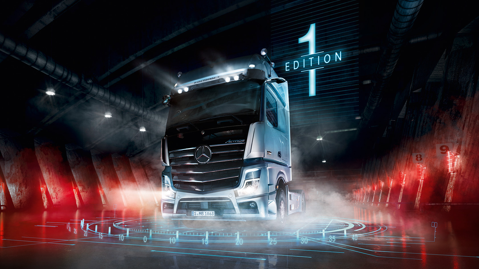 The new Actros: Special model Actros Edition 1 – Mercedes