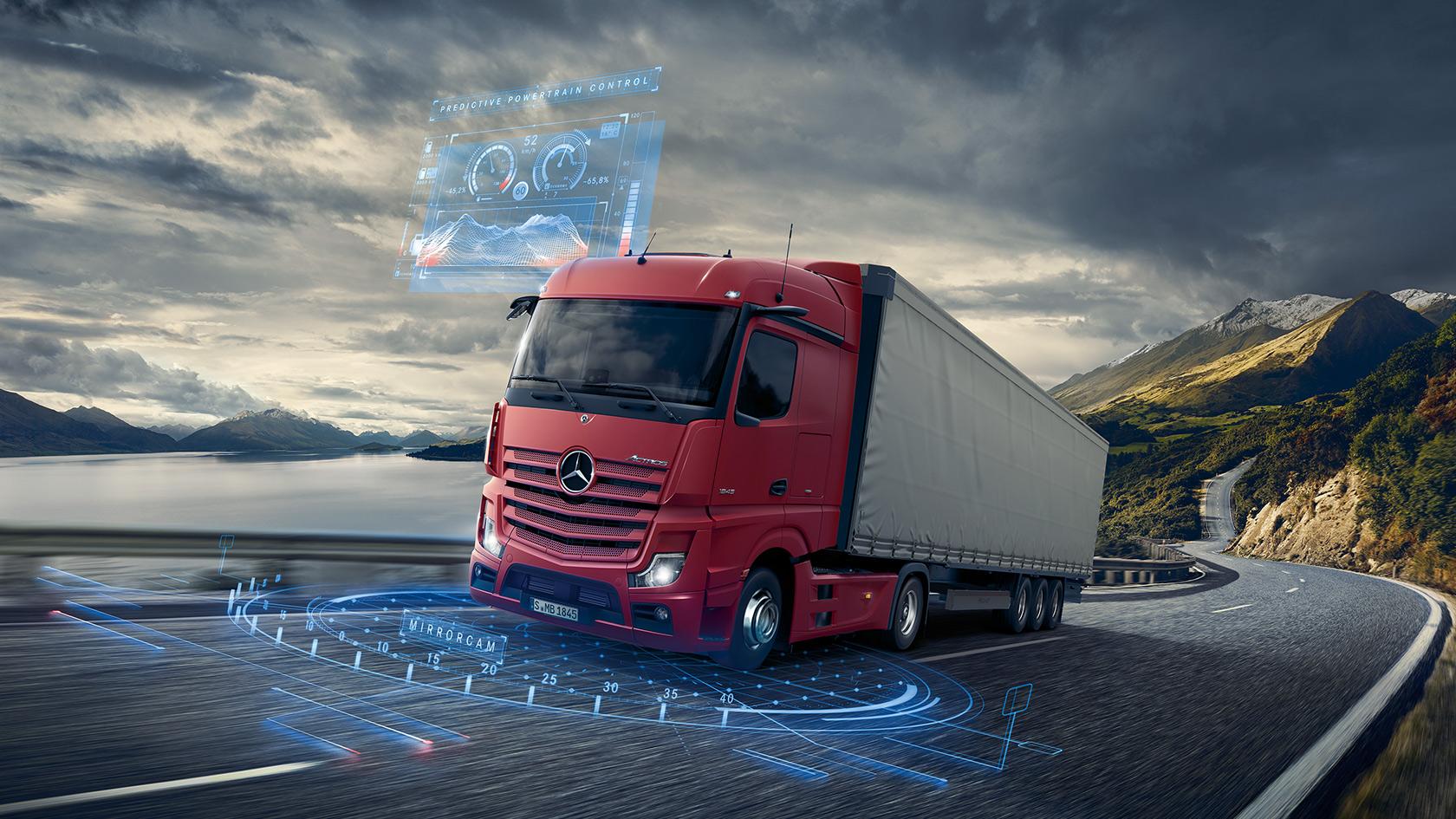 The new Actros: Technical data – Mercedes-Benz Trucks UK