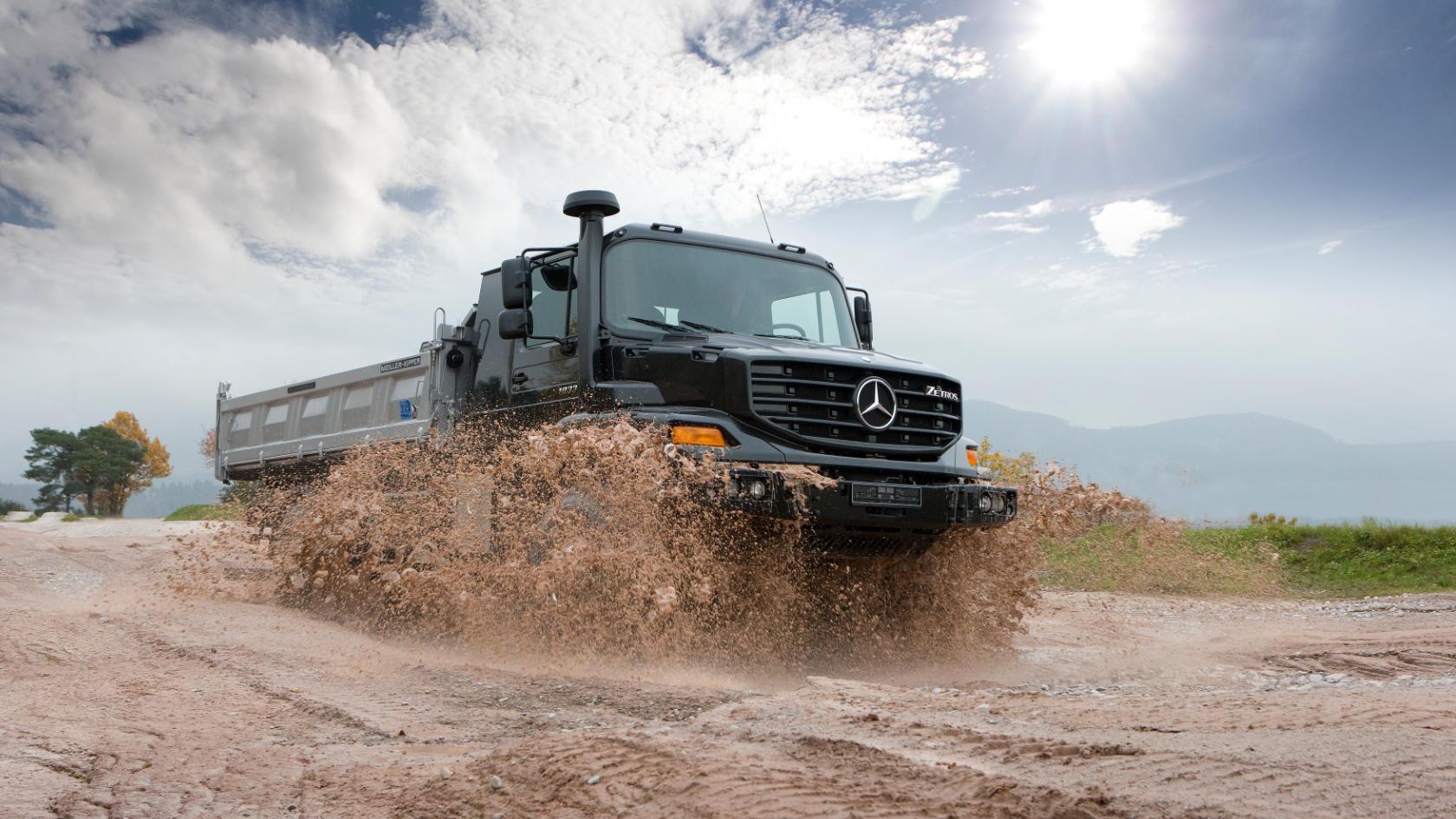 Zetros Mercedes Benz Trucks