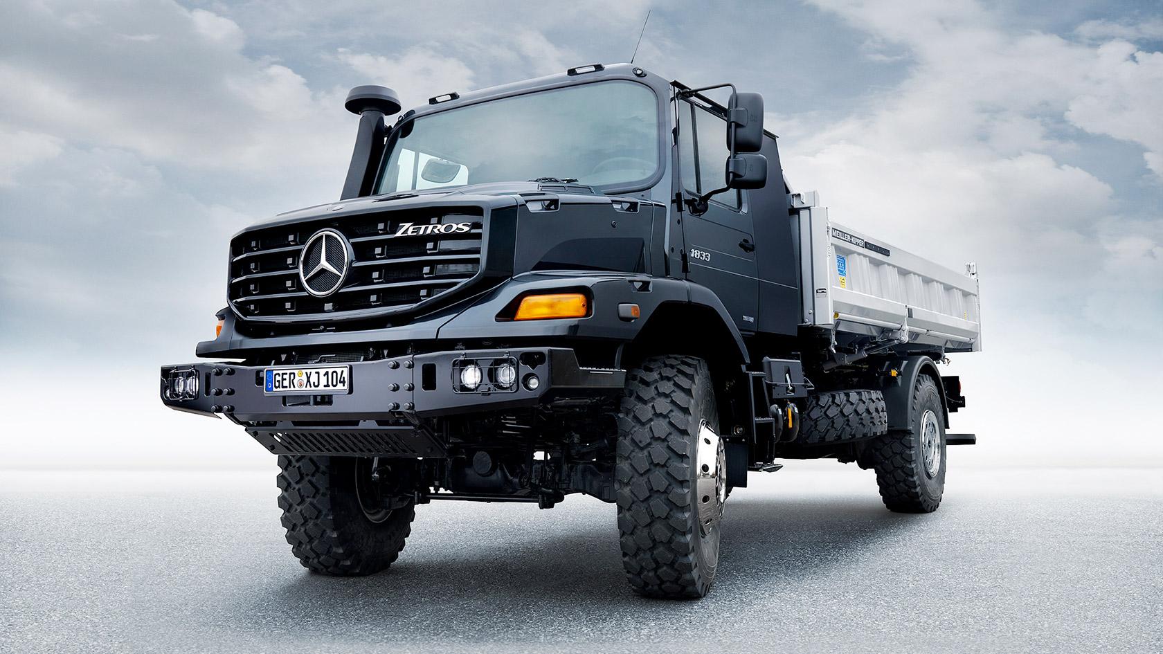 Zetros Mercedes Benz Vrachtwagens Trucks You Can Trust