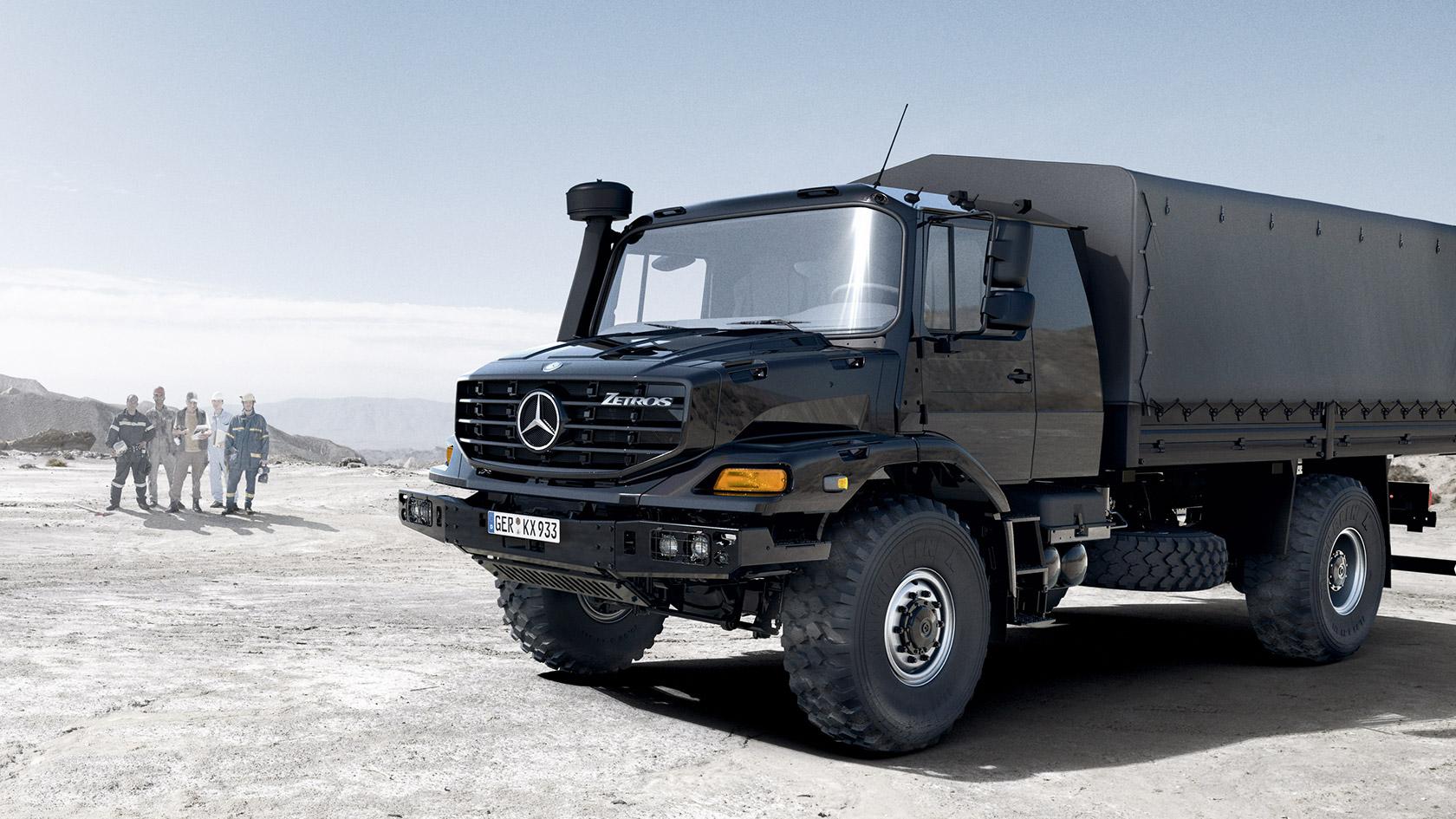 Highlights En Andere Feiten Mercedes Benz Trucks
